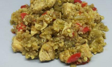 Popurri de vegetales y Quinoa